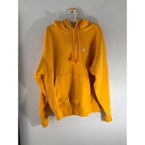 Champion reverse weave hoodie golden yellow